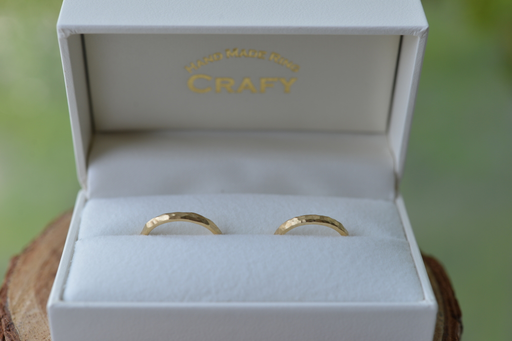手作り結婚指輪