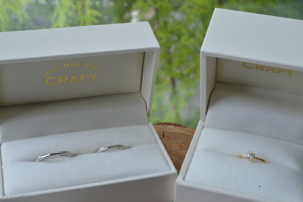 手作り婚約指輪・手作り結婚指輪
