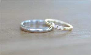 指輪 埋めタイプ