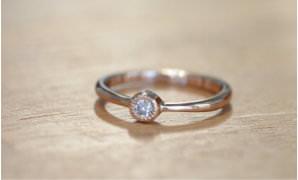 指輪 枠タイプ