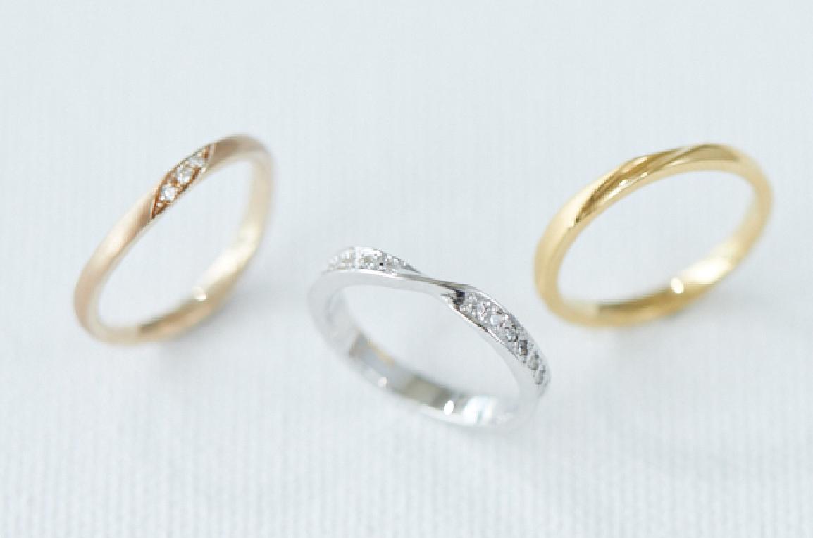 指輪に留める宝石を無料サービス
